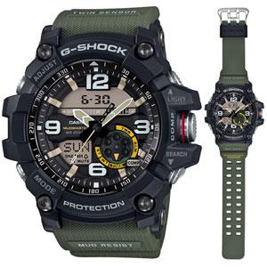 GG-1000-1A3JF カシオ G-SHOCK MUDMASTER Gショック デジアナ時計 メンズタイプ [GG10001A3JF]【返品種別A】【送料無料】