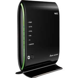 PA-WG2200HP NEC 11ac対応 無線LANルーター親機(1733+450Mbps) Aterm WG2200HP [PAWG2200HP]【返品種別A】【送料無料】
