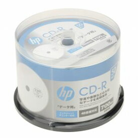 CDR80CHPW50PA ヒューレット・パッカード データ用700MB 48倍速対応CD-R 50枚パック ホワイトワイドプリンタブル