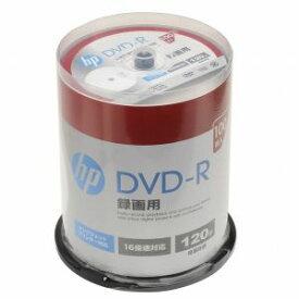DR120CHPW100PA ヒューレット・パッカード 16倍速対応DVD-R 100枚パック 120分 ホワイトワイドプリンタブル