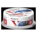 30DMR12MLPP ソニー 16倍速対応DVD-R 30枚パック4.7GB ホワイトプリンタブル [30DMR12MLPP]【返品種別A】