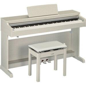 YDP-163WA ヤマハ 電子ピアノ(ホワイトアッシュ調仕上げ)【高低自在椅子&ヘッドホン&ソングブック付き】 YAMAHA ARIUS(アリウス) [YDP163WA]【返品種別A】【送料無料】