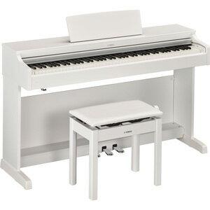 YDP-163WH ヤマハ 電子ピアノ(ホワイトウッド調仕上げ)【高低自在椅子&ヘッドホン&ソングブック付き】 YAMAHA ARIUS(アリウス) [YDP163WH]【返品種別A】【送料無料】
