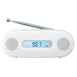 RF-TJ20-W パナソニック AM/FMワイド手回し充電ラジオ(ホワイト) Panasonic [RFTJ20W]【返品種別A】
