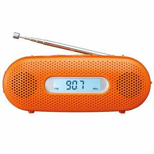 RF-TJ20-D パナソニック AM/FMワイド手回し充電ラジオ(オレンジ) Panasonic [RFTJ20D]【返品種別A】