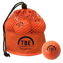 TBM-2MBO 飛衛門 公認球ゴルフボール12球(オレンジ) 1ダース 2017年モデル TOBIEMON とびえもん メッシュバッグ入り
