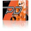 GL0724-801【税込】 ナイキ パワーディスタンスソフト ゴルフボール 1ダース 12個入り(オレンジボール/ブラックスウッシュ) Nike POWEDI...
