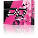 GL0725-601 ナイキ パワーディスタンス9 レディースゴルフボール 1ダース 12個入り(ピンクボール/グレースウッシュ) Nike POWER DIS...