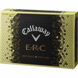 ERC16 YL 12P キャロウェイ E・R・C ゴルフボール 1ダース12個入り(クリスタルイエロー) Callaway CW16 ERC CRYSTAL YE 12P 64226531200117 [ERC16YL12P]【返品種別A】