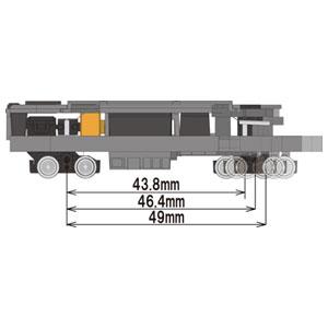 [鉄道模型]トミーテック 【再生産】(N) 鉄道コレクション動力ユニット 大型路面電車用 TM-TR04 [トミーテック テツコレヨウドウリョクユニット TM-TR04]【返品種別B】