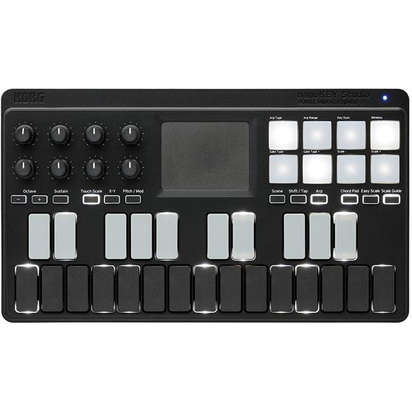 NANO KEY STUDIO コルグ 25鍵 モバイルMIDIキーボード・コントローラー KORG