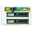 SP008GBLFU213N22DA シリコンパワー PC4-17000(DDR4-2133)288pin DDR4 SDRAM DIMM 8GB(4GB×2枚...