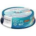 20BNR1VJPP6 ソニー 6倍速対応BD-R 20枚パック 25GB ホワイトプリンタブル [20BNR1VJPP6]【返品種別A】