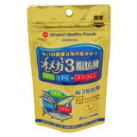 オメガ3脂肪酸 62球 ミナミヘルシーフーズ オメガ3シボウサン