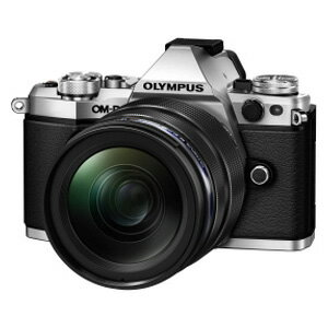 E-M5 MK2 1240K(SLV) オリンパス デジタル一眼カメラ「OM-D E-M5 MarkII」12-40mm F2.8レンズキット(シルバー) [EM5MK21240KSLV]【返品種別A】