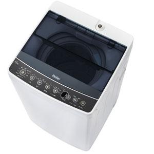 JW-C45A-K ハイアール 4.5kg 全自動洗濯機 ブラック Haier [JWC45AK]【返品種別A】(標準設置料込)