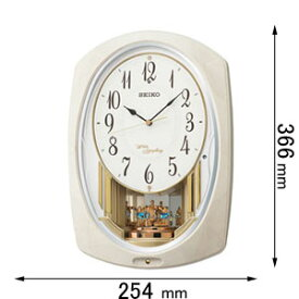 AM261A セイコークロック アミューズ時計 セイコーメロディ [AM261A]【返品種別A】