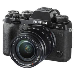 F X-T2LK-B 富士フイルム ミラーレスデジタルカメラ「X-T2」XF18-55mmF2.8-4 R LM OISレンズキット [FXT2LKB]【返品種別A】
