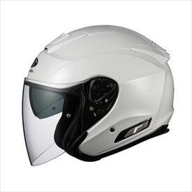 ASAGI-PWH-XL OGKカブト オープンフェイスヘルメット(パールホワイト)[XL] OGK ASAGI