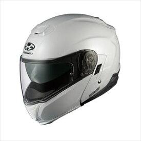 IBUKI-PWH-XL OGKカブト システムヘルメット(パールホワイト)[XL] OGK KABUTO IBUKI