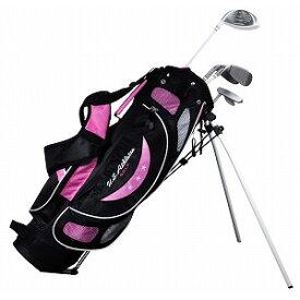 USCS-5755 PK U.S.アスリート ジュニア用 ゴルフ クラブセット 4本セット スタンドバッグ付 ピンク9〜12歳対象(身長130〜150cm) U.S.Athlete