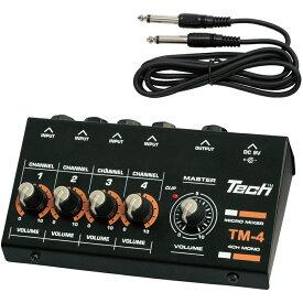 TM-4 テック 4chマイクロミキサー TECH