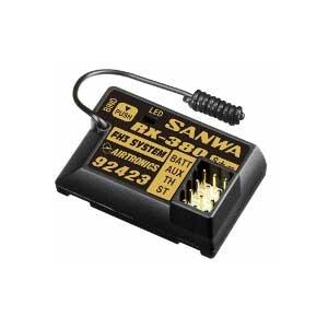 RX-380 2.4GHz 3ch レシーバー【107A41074A】 サンワ