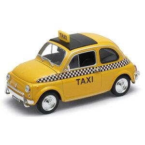 1/24 フィアット ヌォーヴァ 500 タクシー(イエロー)【WE22515TX】 WELLY [WELLY.WE22515TX.フィアット ヌォーヴァ イエロー]【返品種別B】