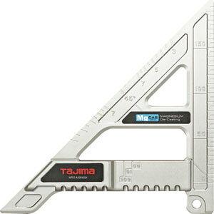 MRG-M9045M TJMデザイン 丸鋸ガイド モバイル 90-45 マグネシウム タジマ 丸ノコ切断用定規