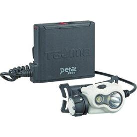 LE-E301-W TJMデザイン 充電式LEDヘッドライト 300ルーメン(ホワイト) タジマ ヘッドライト(LED)