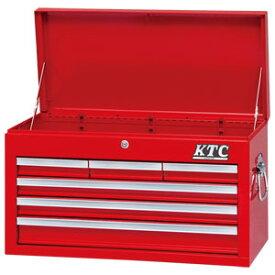 SKX3306 京都機械工具 チェスト(4段6引出し) KTC スチール製工具箱