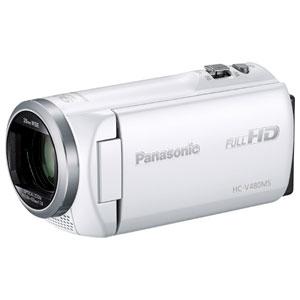 HC-V480MS-W パナソニック デジタルハイビジョンビデオカメラ「HC-V480MS」(ホワイト)