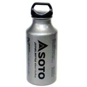 SOD-700-04 新富士バーナー MUKAストーブ専用燃料ボトル SOTO広口フューエルボトル400ml