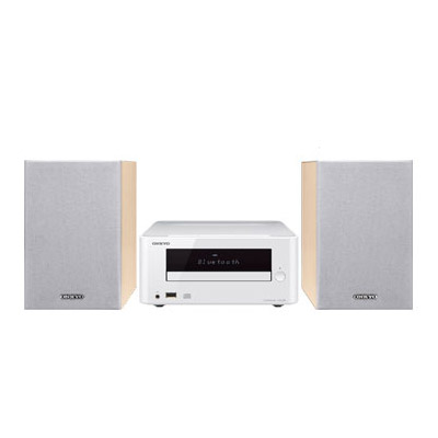 X-U6-W オンキヨー Bluetooth対応CDレシーバーシステム(ホワイト) ONKYO