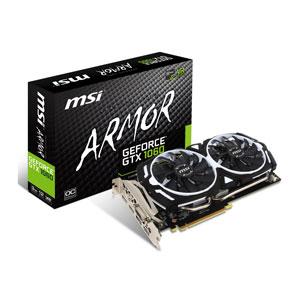 GTX 1060 ARMOR3GOCV1 MSI PCI-Express 3.0 x16対応 グラフィックスボードMSI GeForce GTX 1060 ARMOR 3G OCV1 [GTX1060ARMOR3GOCV1]【返品種別B】