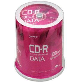 VVDCR80GP100 HIDISC データ用 52倍速対応CD-R 100枚パック 700MB ワイドプリンタブル ハイディスク