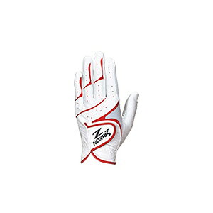 GGG-S016 ホワイトレツド 24 ダンロップ スリクソン ゴルフグローブ 左手用(ホワイト/レッド・24cm) DUNLOP SRIXON