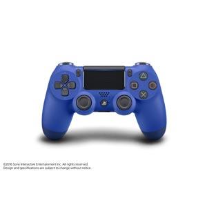 【PS4】ワイヤレスコントローラー(DUALSHOCK 4)ウェイブ・ブルー ソニー・インタラクティブエンタテインメント [CUH-ZCT2J12 PS4デュアルショックブルー]
