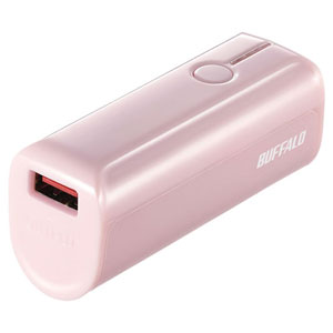 BSMPB3301P1PK バッファロー スマートフォン/タブレット用 モバイルバッテリー AUTO POWER SELECT搭載 3350mAhタイプ(ピンク) [BSMPB3301P1PK]【返品種別A】