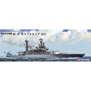 1/700 WWII 米海軍 戦艦 BB-44 カリフォルニア 1941 【W187】 ピットロード [PT W187 BB44 センカンカリフォルニア 1941]【返品種別B】