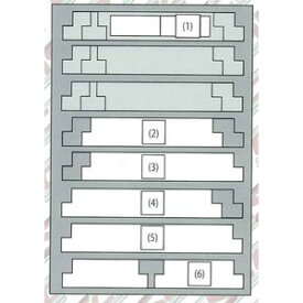 [鉄道模型]キャスコ 【再生産】(N) YP-047 8両用ウレタン(1枚入り・ライトグレー)
