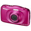 W100PK【税込】 ニコン デジタルカメラ「COOLPIX W100」(ピンク) [W100PK]【返品種別A】【送料無料】【RCP】