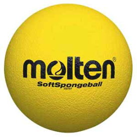 MT-STS16Y モルテン ドッジボール Molten ソフトスポンジボール 黄 直径約16cm(0号球相当)