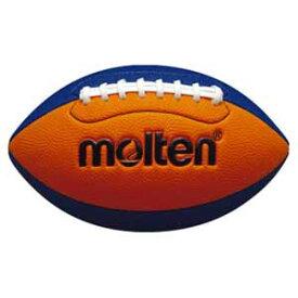 MT-Q3C2500OB モルテン ラグビーボール Molten フラッグフットボールミニ オレンジ×ブルー 横の周囲40〜42cm