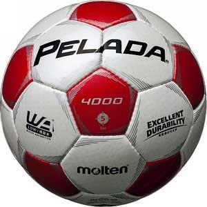 MT-F5P4000WR モルテン サッカーボール Molten ペレーダ4000 5号球 WHRD [MTF5P4000WR]【返品種別A】