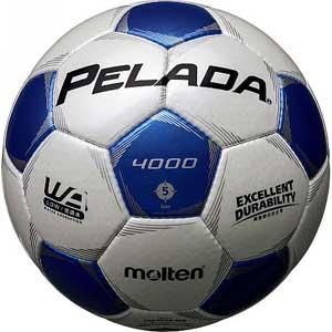 MT-F5P4000WB モルテン サッカーボール Molten ペレーダ4000 5号球 WHBL [MTF5P4000WB]【返品種別A】