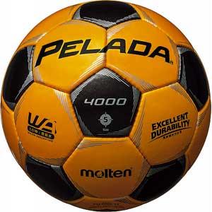 MT-F5P4000YK モルテン サッカーボール Molten ペレーダ4000 5号球 YBK [MTF5P4000YK]【返品種別A】