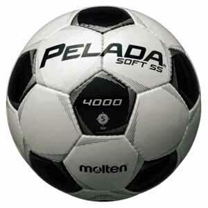 MT-F5P4005 モルテン サッカーボール Molten ペレーダ4000SS 5号球 WHBK [MTF5P4005]【返品種別A】