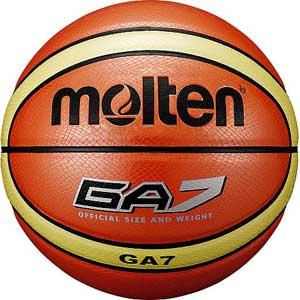 MT-BGA7 モルテン バスケットボール Molten GA 7号球 オレンジ