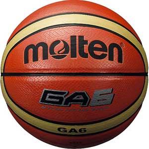 MT-BGA6 モルテン バスケットボール Molten GA 6号球 オレンジ [MTBGA6]【返品種別A】